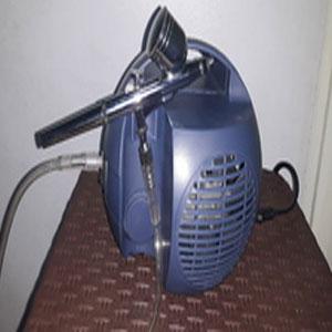 Air Brush Spray Gun With Mini Compressor : TI7CC1.5P