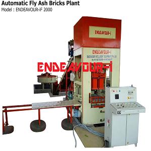 Automatic Fly Ash Bricks Plant - ENDEAVOUR-iF2000