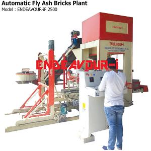 Automatic Fly Ash Bricks Plant - ENDEAVOUR-iF2500