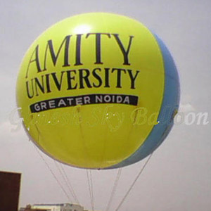 University Advertising Sky Balloons