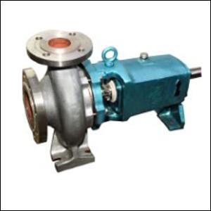 Close impeller centrifugal pump