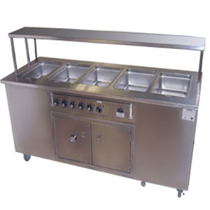 Hot Bain Baire With Counter