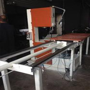 Automatic Vertical Metal Cutting Band Saw Machine