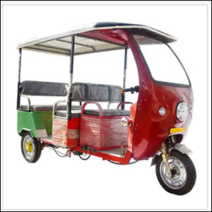 Auto Shaped E-Rickshaw