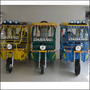 Electric Battery Rickshaw