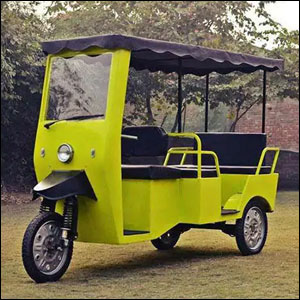 Heavy Duty E Rickshaw