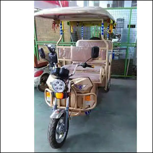 Three Wheeler E Battery Rickshaw