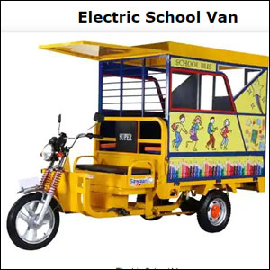 Electric School Van
