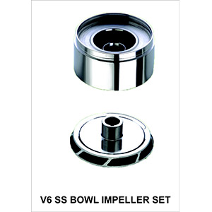 V6 SS Bowl Impeller Set