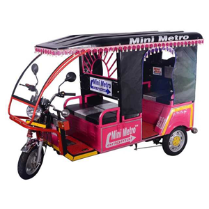 Battery Rickshaw in India