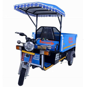 Electric Loader Rickshaw