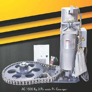Strong Life Rolling Shutter Motor -1500 Kg Three Phase