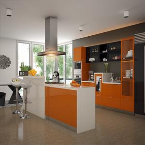 Parallel Modular Kitchen