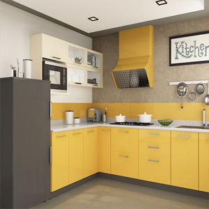 L-shape Modular Kitchen