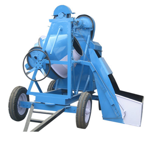 Concrete Mixer Machine with Chain Hopper