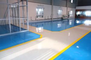 Chemical proof epoxy flooring