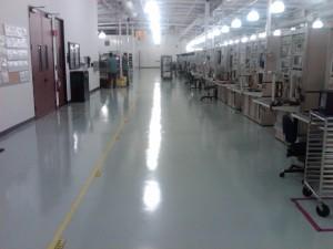 Epoxy Flooring for Electronics Industry