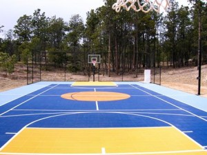 PU Sports Deck FLooring
