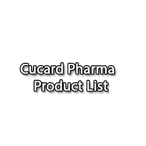 Cucard Pharma Product List