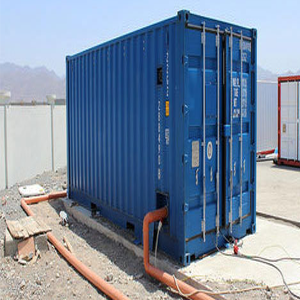 Waste Water Treatment Container