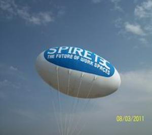 Oval Advertiser Balloons