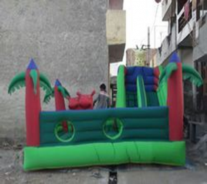 Inflatable Jungle Bouncy