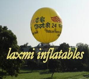 Polio Campaign Advertising Balloon