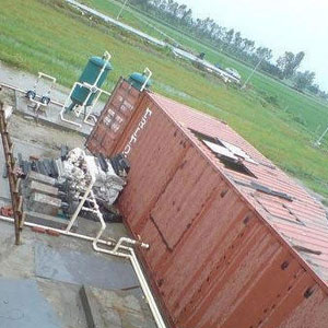 Containerized Packaged Sewage Treatment Plant