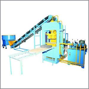 Semi Automatic Bricks Machine