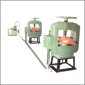 Hydraulic Chequered Tiles Machine