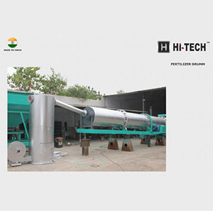 Fertilizer Drying Drum Machine