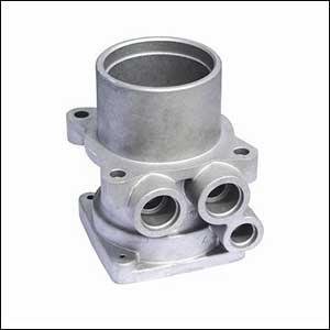 Aluminum Oil Pump Body Casting