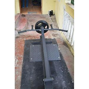T- Bar Home Gym