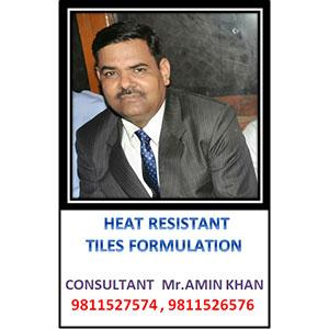 Heat Resistant Tiles Formulation
