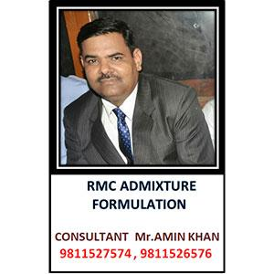 RMC Admixture Formulation