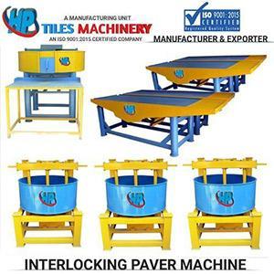 Interloking Tiles Making Machine