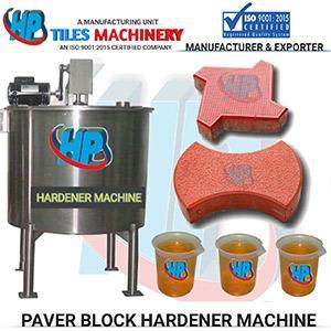 Paver Hardener Making Machine