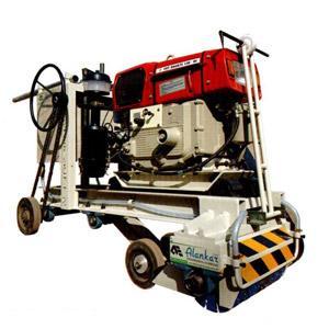 Texturing Machine with 13 hp Diesel Engine
