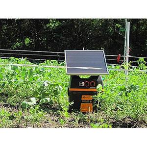 Solar Electric Fence Charger
