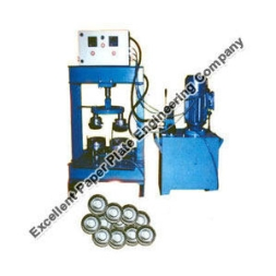 Paper Plate Making Double Die Hydraulic Machine