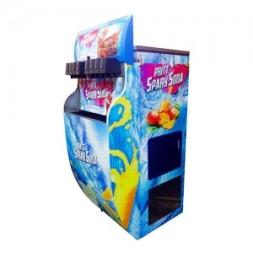 Multivalve Soda Fountain Machine