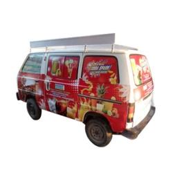 Mobile Van Soda Machine