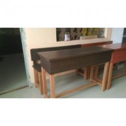 Wooden Desk Bench