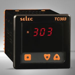 Single Display, Single Set Point Economic Temperature Controller (96x96)