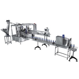 Pet Bottle Rinsing, Filling, Capping Machine