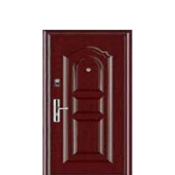Leather Finish Steel Security Doors