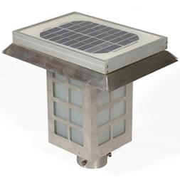 Solar Gate & Garden & Lamp Post Light