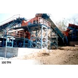 100-120 TPH Crusher Plant