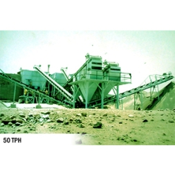 50 TPH 1 Stage Sand Crushing Plant