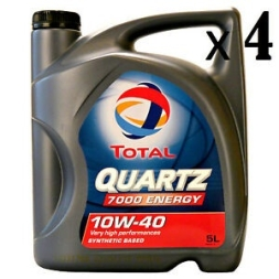 TOTAL QUARTZ 7000 ENERGY 10W-40 10W40 ENGINE OIL